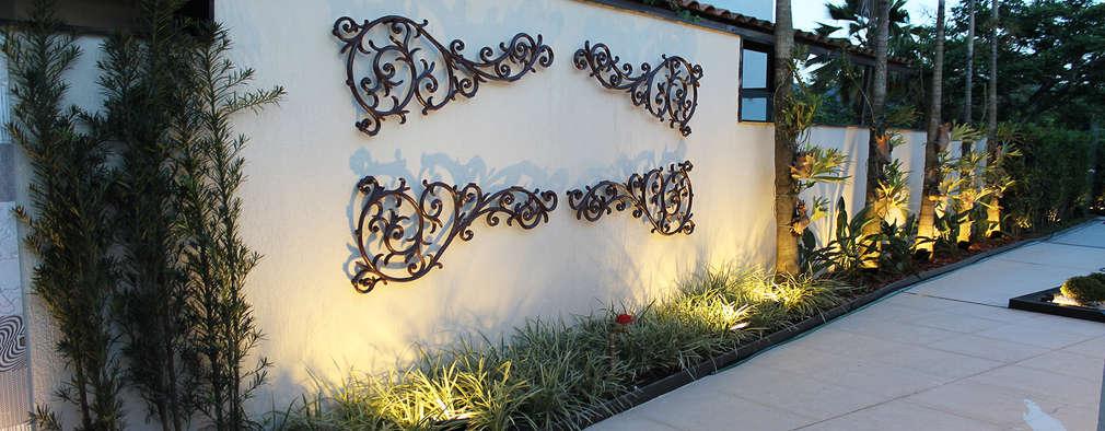 Jardines de estilo moderno por Luiz Coelho Arquitetura