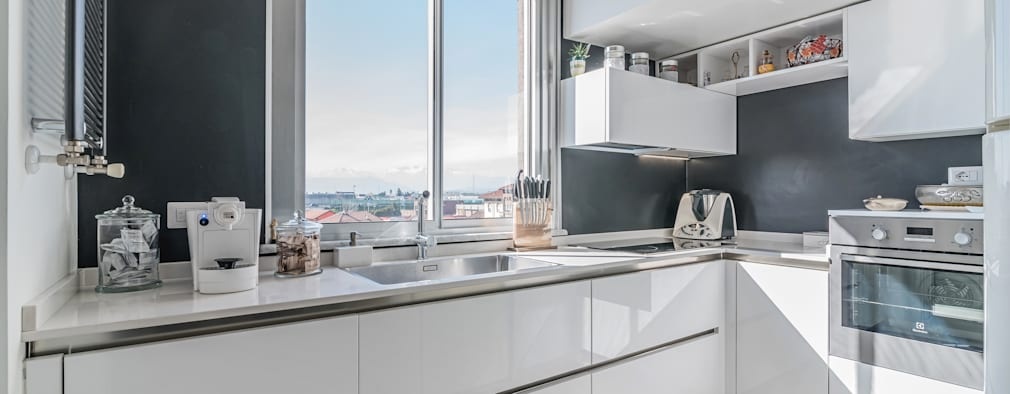 Moderne küchen weiss  10 moderne Küchen ganz in Weiß