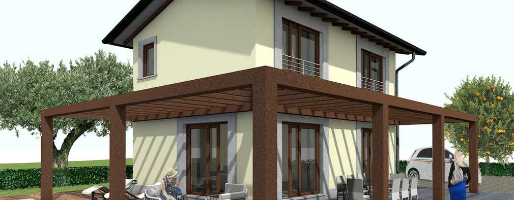 Modelos de casas de dos pisos for Modelos de casas de dos pisos