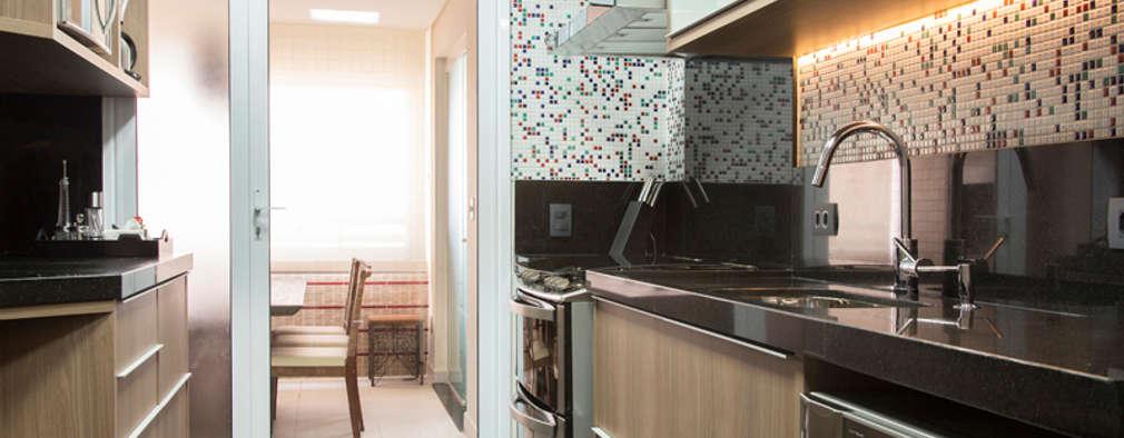 Cocinas de estilo ecléctico por Espaço Alessandra Luz Casa & Jardim