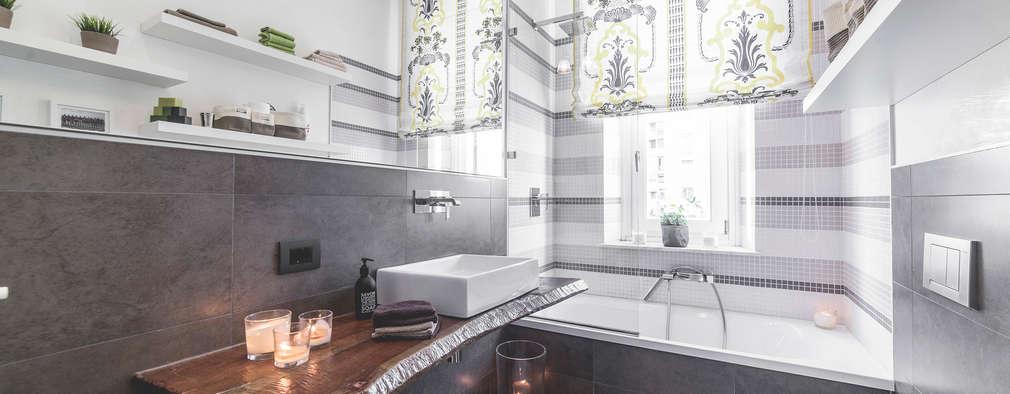modern Bathroom by MODO Architettura