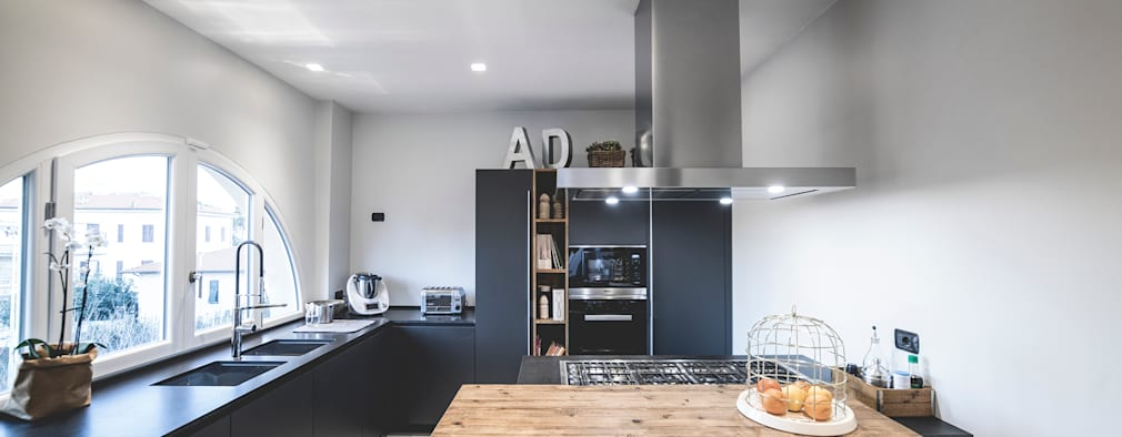 Terra Rossa House: Cucina in stile in stile Minimalista di MODO Architettura