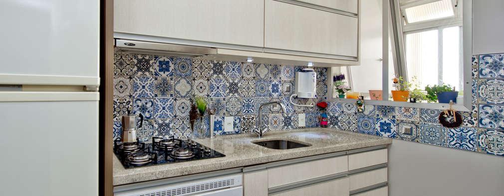 modern Kitchen by Kris Bristot Arquitetura