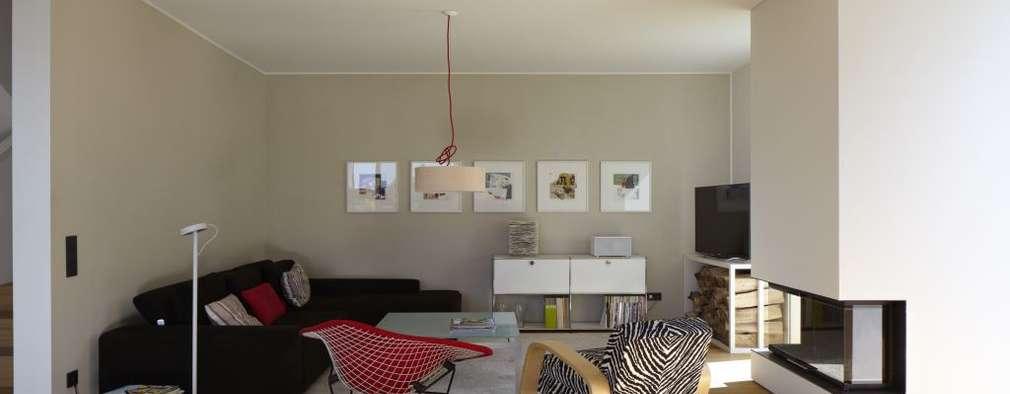 modern Living room by Falke Architekten