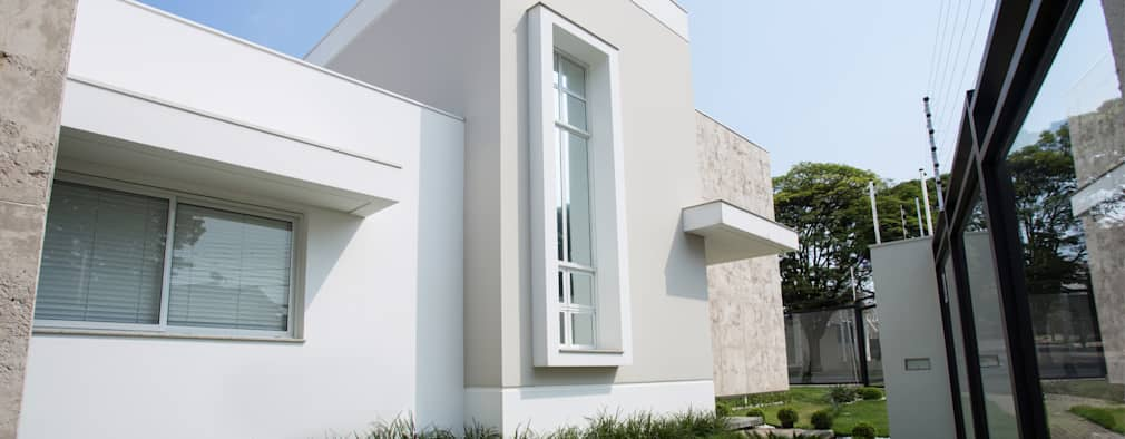 Casas de estilo moderno por GOMA Arquitetura