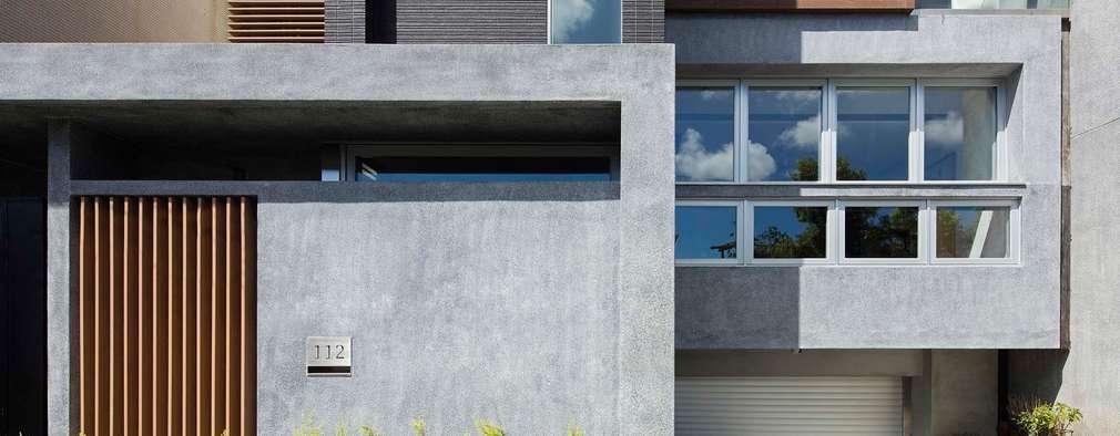 材質的表情:  房子 by 前置建築 Preposition Architecture
