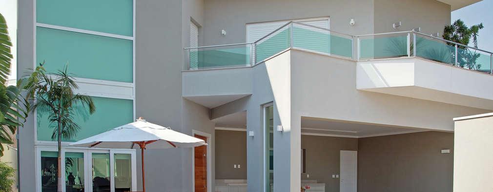 Projekty,  Basen zaprojektowane przez Caio Pelisson - Arquitetura e Design