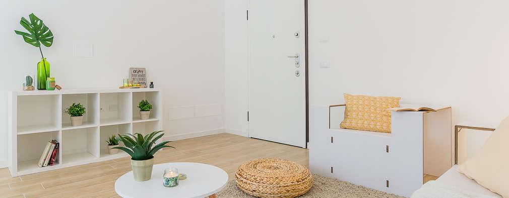 Skandinavische Wohnzimmer Von Home Staging U0026 Dintorni