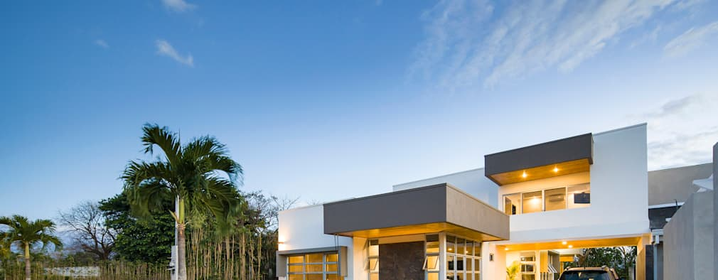 Modernes wohnhaus mit viel licht for Modernes wohnhaus