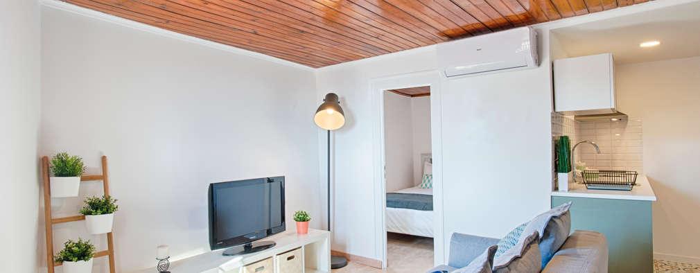 Projekty,  Salon zaprojektowane przez menta, creative architecture