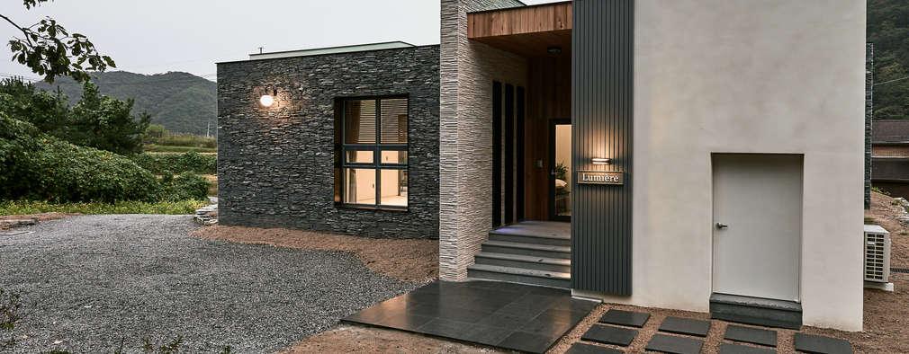 Projekty, nowoczesne Domy zaprojektowane przez Design Anche