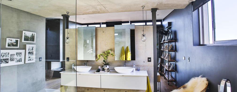 House Pautz: modern Bathroom by Blunt Architects