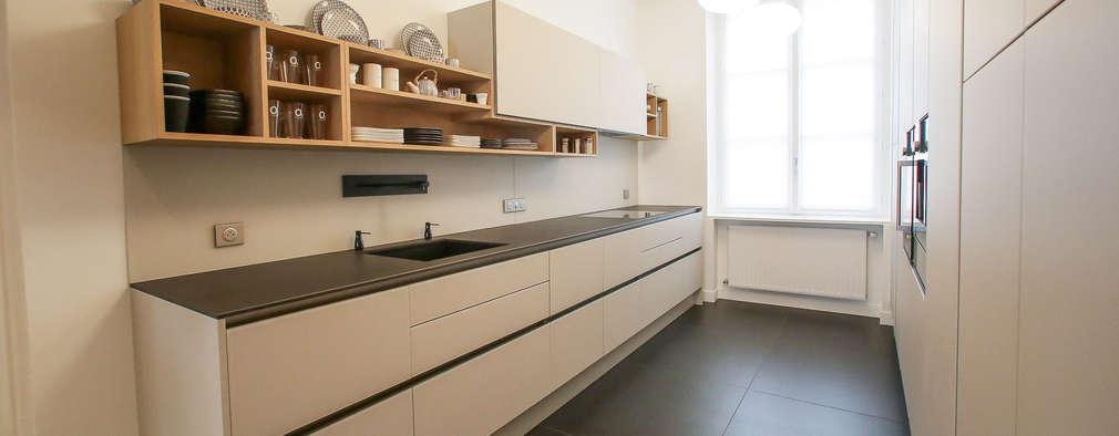 مطبخ تنفيذ Myriam Wozniak Architecture et décoration