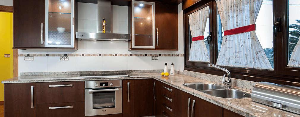 MORANDO INMOBILIARIA: rustik tarz tarz Mutfak