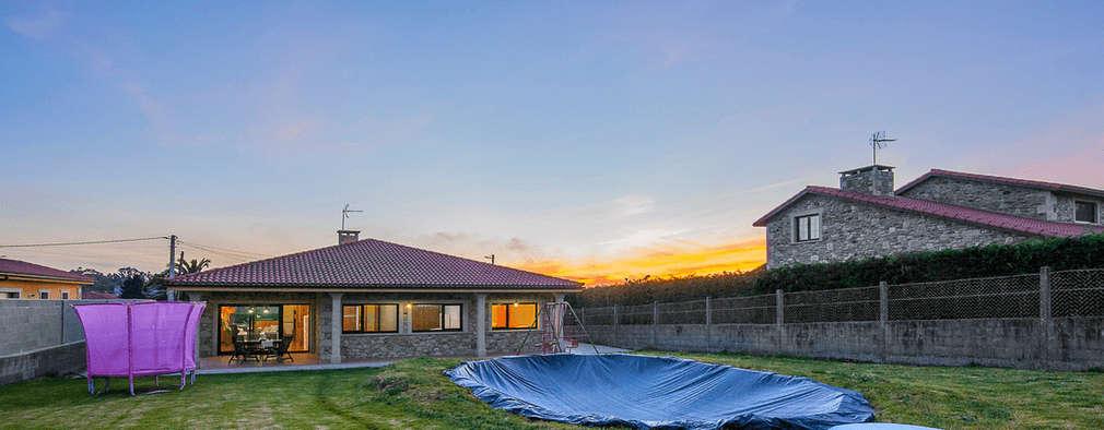 Una casa r stica en galicia de una sola planta preciosa - Casas rusticas galicia ...