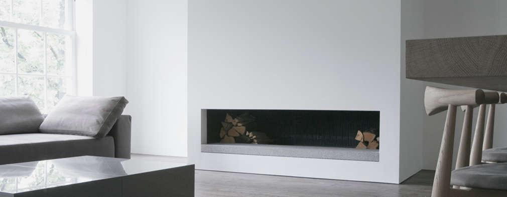 Living Room: minimalistische Woonkamer door Jen Alkema architect