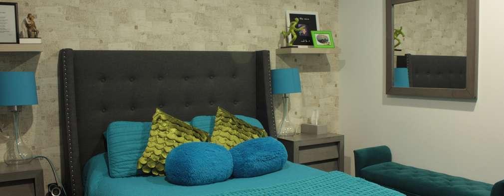 Moderne Schlafzimmer Von EmARTquitectura
