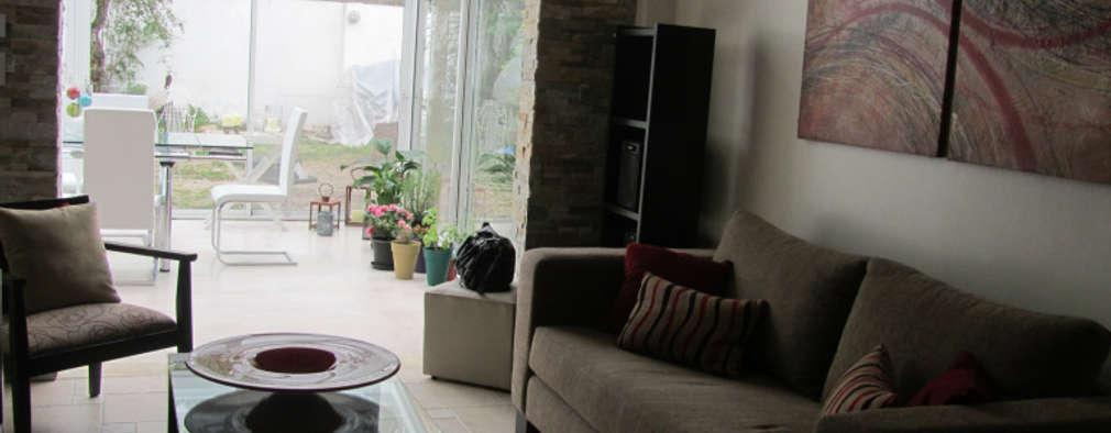 Livings de estilo moderno por Arquitecta MORIELLO