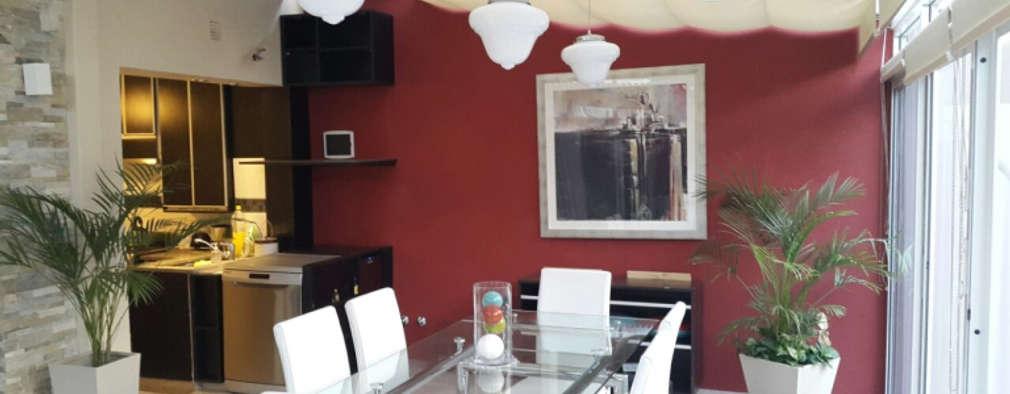 Ruang Makan by Arquitecta MORIELLO