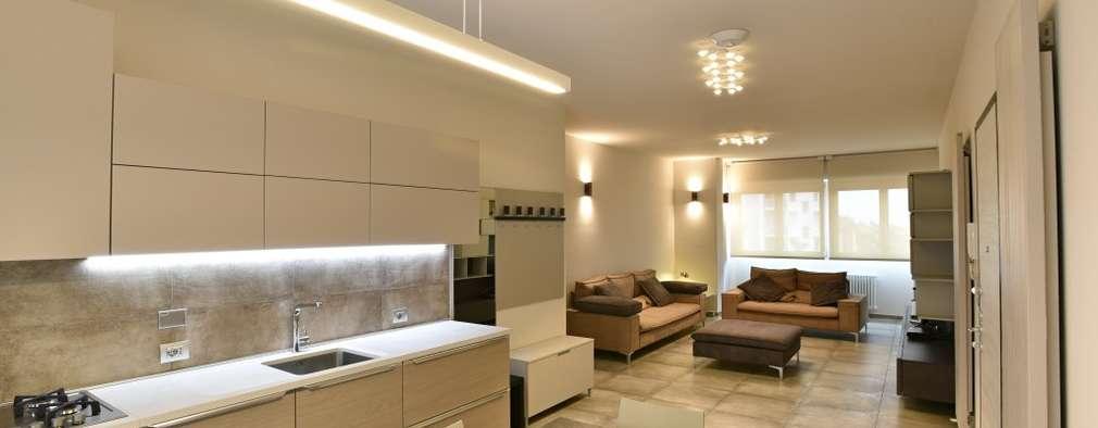 مطبخ تنفيذ architetto Davide Fornero