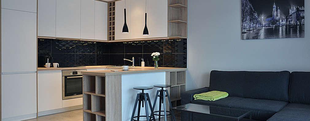 مطبخ تنفيذ INNers - architektura wnętrza