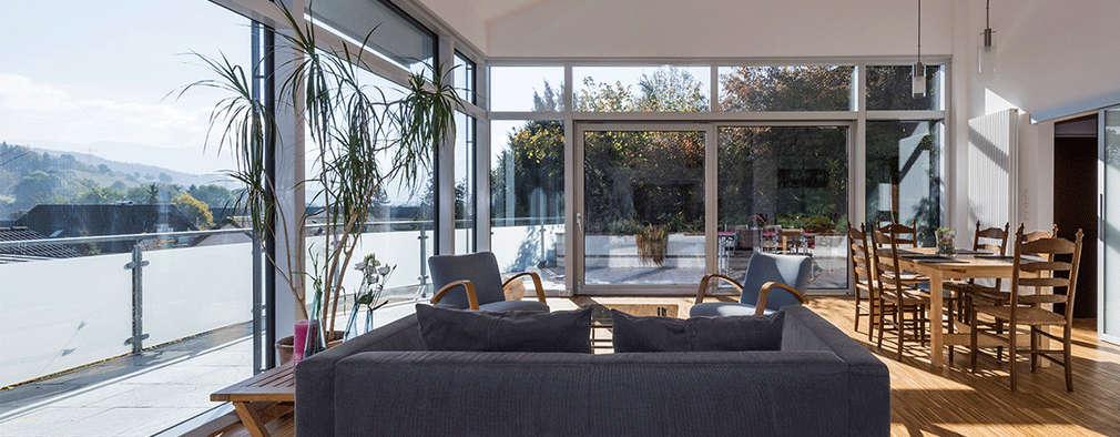 modern Living room by KitzlingerHaus GmbH & Co. KG