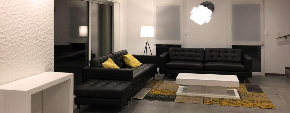 غرفة المعيشة تنفيذ Camille Lafut