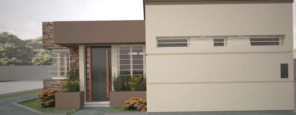 Casas de estilo moderno por Estudio Barrios Astuto