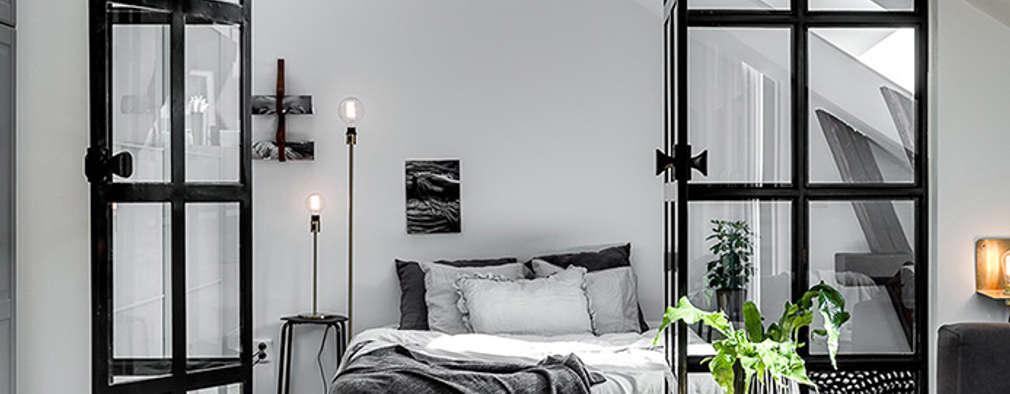 scandinavian Bedroom by Design for Love