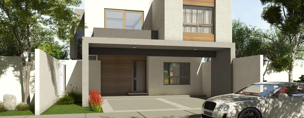 30 fachadas en 3d para que te inspires a dise ar tu casa ideal - Disenar casas 3d ...