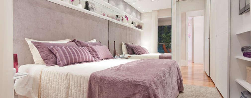 Dormitorios de estilo moderno por LA Interiores