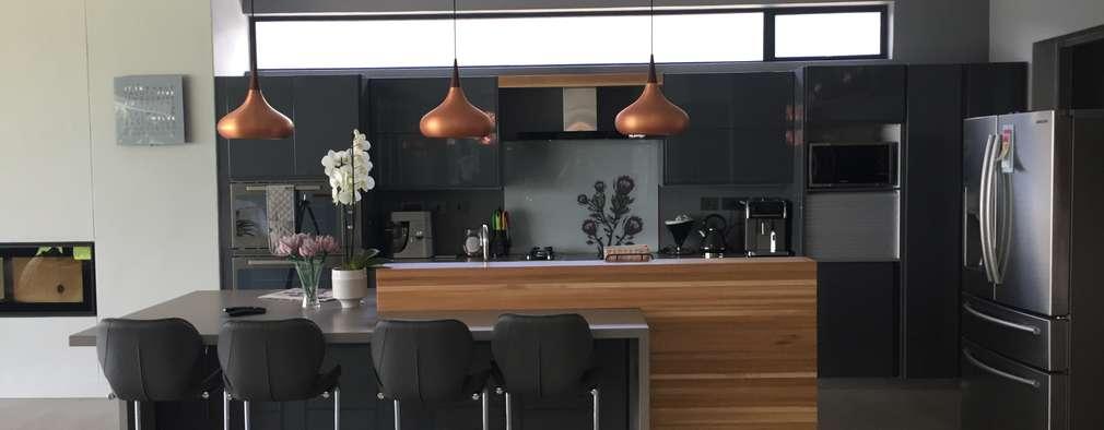 House Verster - Johannesburg : modern Kitchen by Graftink Interior and Architectural Design Studio