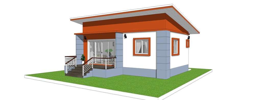 3 casas peque as y econ micas incluye planos for Planos para construccion casas pequenas