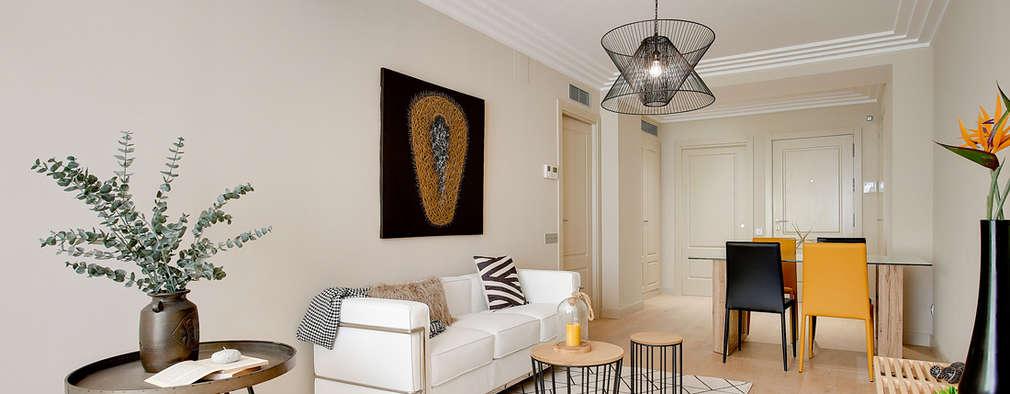 Un piso de 70 m en barcelona que enamora a cualquiera - Decoraciones salones modernos ...