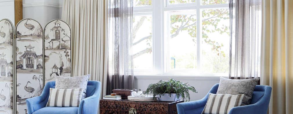 klassische Schlafzimmer von Natalie Bulwer Interiors
