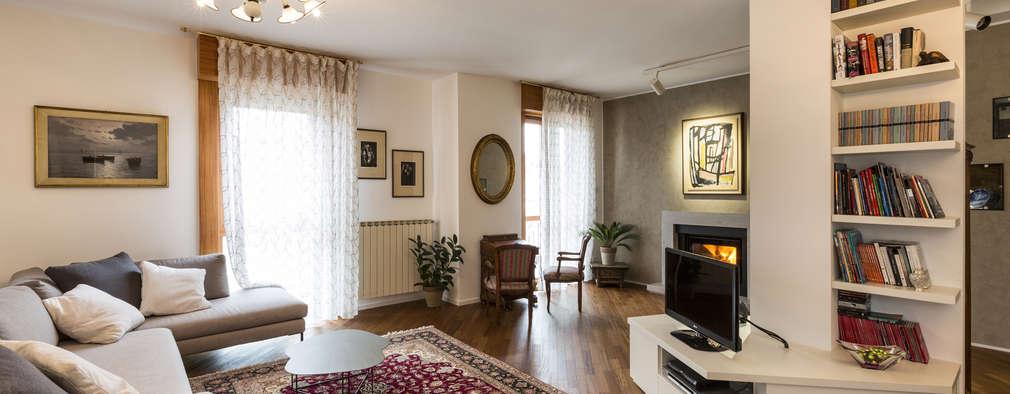 Salas / recibidores de estilo clásico por Elia Falaschi Photographer