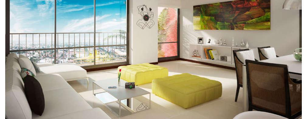 Ruang Keluarga by MC Arquitectos