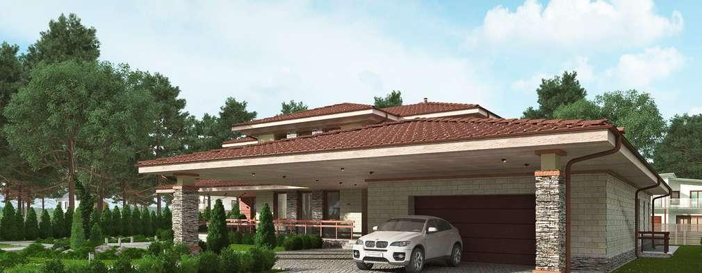 classic Houses by Архитектурное бюро Art&Brick