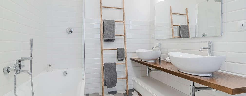 엣지 있는 욕실의 비밀, 욕실 타일 아이디어 12