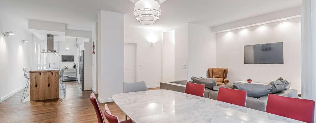 Attractive Ristrutturazione Appartamento Milano, Tibaldi: Soggiorno In Stile In Stile  Moderno Di Facile Ristrutturare