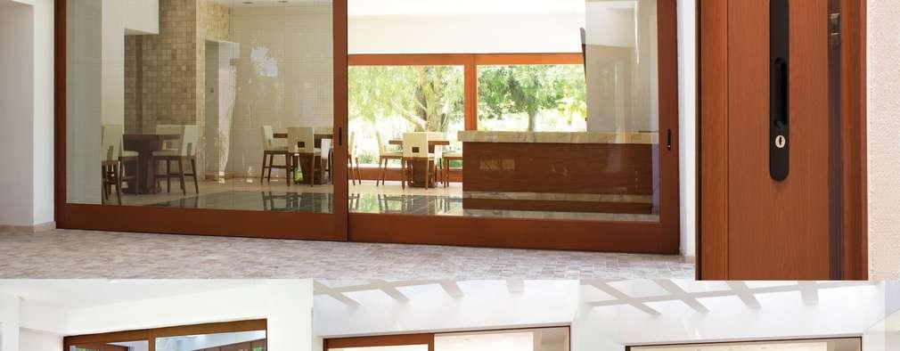 Los 6 Tipos de Puertas corredizas para un hogar sofisticado