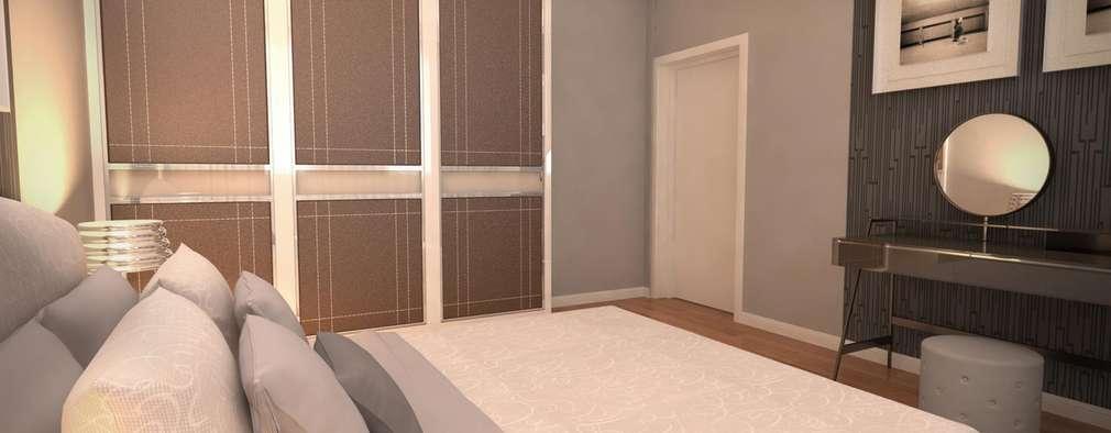 modern Bedroom by GEKADESIGN