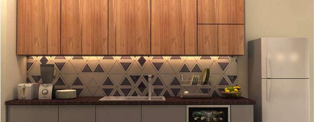 KITCHEN - VIEW 2: minimalistic Kitchen by MAD DESIGN