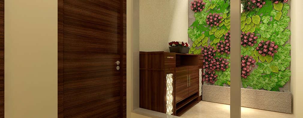 Corridor & hallway by MAD DESIGN
