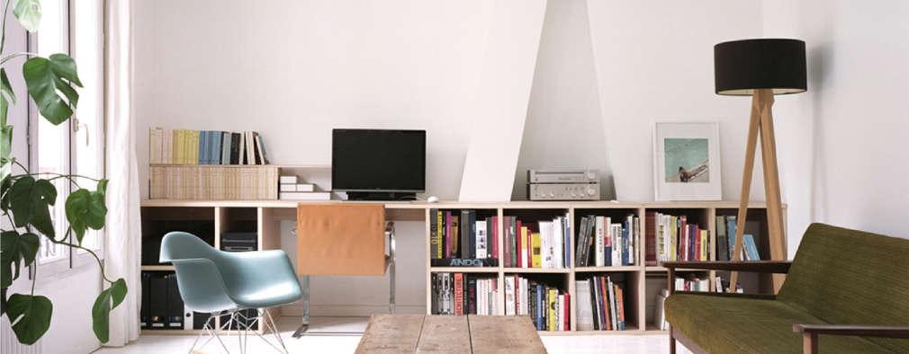 APPARTEMENT JBD: Bureau de style de style Moderne par MEMO Architecture