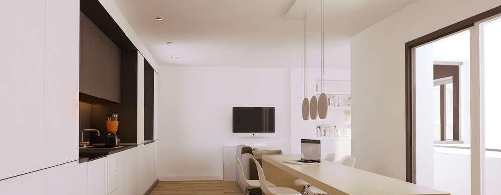 Projekty,  Salon zaprojektowane przez GokoStudio