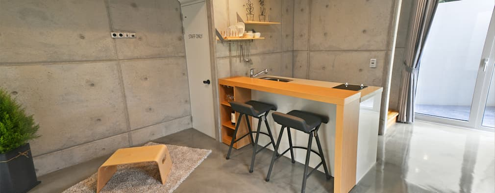 Ruang Makan by 건축사사무소 어코드 URCODE ARCHITECTURE