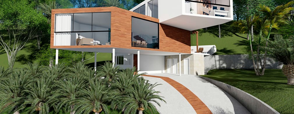 Moderna casa em s o paulo incr vel por dentro e por for Casas modernas por dentro