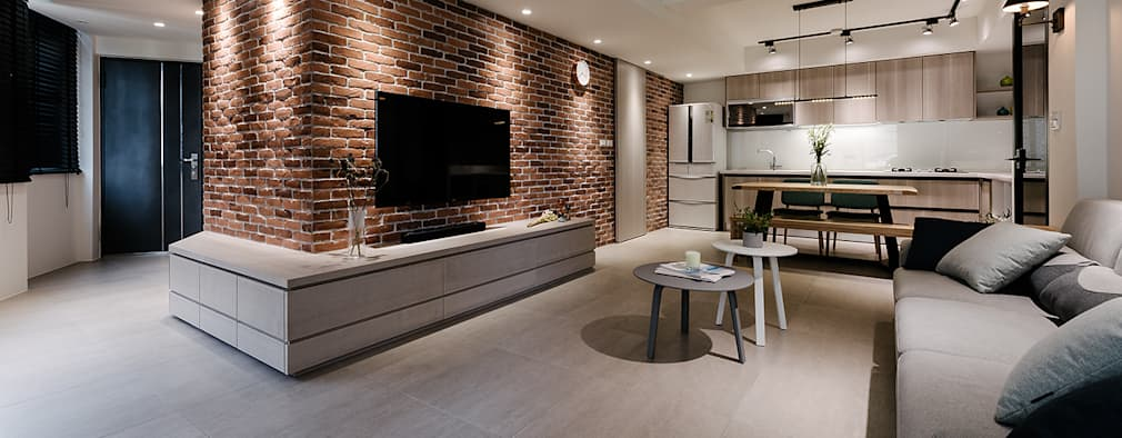 Ruang Keluarga by 隹設計 ZHUI Design Studio