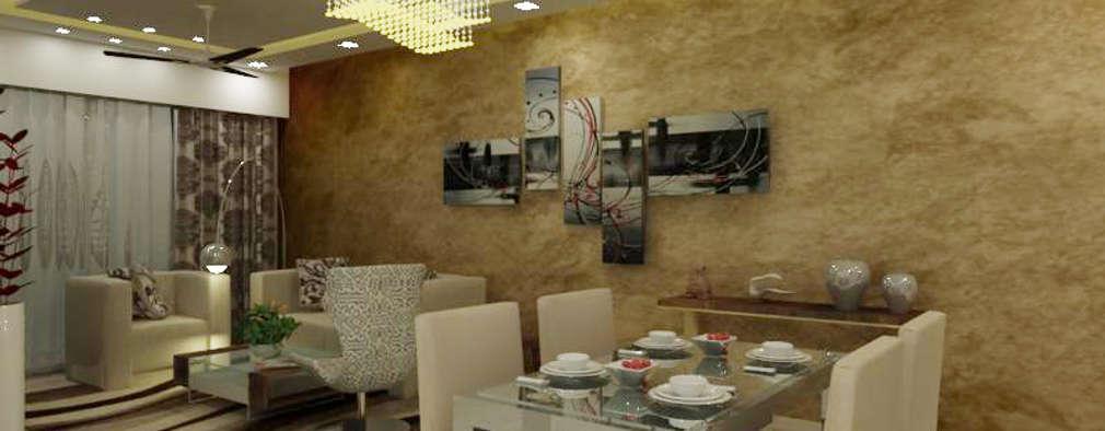 minimalistic Living room by A Design Studio